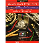 Standard of Excellence Enhanced - Baritone T.C. Book 1