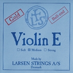 Larsen Strings Larsen Violin Single E String, gold, ball