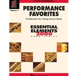 Essential Elements Performance Favorites Vol.1 - Alto Saxophone 1