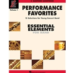 Essential Elements Performance Favorites Vol.1 - Baritone Saxophone