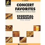 Concert Favorites Vol.1 Clarinet