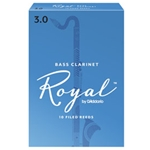 Rico Royal Bass Clarinet Reeds #3.5
