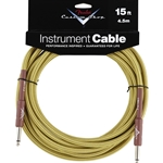 Fender Custom Shop Instrument Cable 15'- Tweed