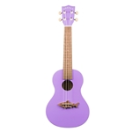 Makala Shark Concert Ukulele - Purple