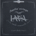 Aquila Black Lava Tenor Low G Super Nylgut Ukulele Strings