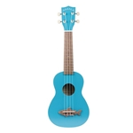 Kala Makala Shark Bridge Soprano Ukulele Blue