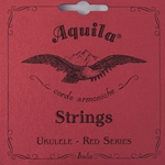 Aquila Red Baritone Ukulele Set