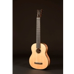 Romero 6-String Spruce and Spalted Mango Parlor Guitar