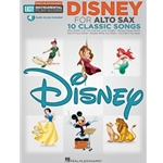Disney For Alto Saxophone - Easy Instrumental Play - Along