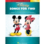 Disney Songs for Two Violins - Easy Instrumental Duets