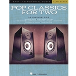 Pop Classics for Two Alto Saxophones - Easy Instrumental Duets