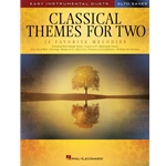 Classical Themes for Two Alto Saxophones - Easy Instrumental Duets