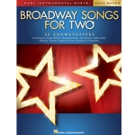 Broadway Songs for Two Alto Saxophones - Easy Instrumental Duets