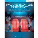 Movie Songs for Two Alto Saxophones - Easy Instrumental Duets