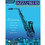 Jazz & Blues Alto Sax Book/CD