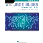 Jazz Blues Favorites Instrumental Play-Along Alto Sax