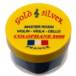 Colophane 2000 Gold & Silver - Violin, Viola and Cello Rosin