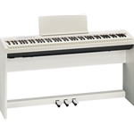Roland FP-30 Digital Piano with Pedals - White
