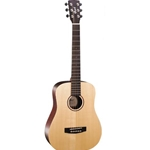 Cort Earth Mini Travel Acoustic Guitar + Bag