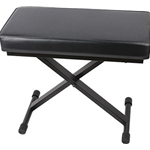 Profile Folding Piano Bench - Black