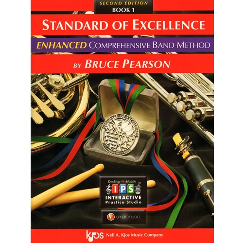 Standard of Excellence Enhanced - Percussion Book 1