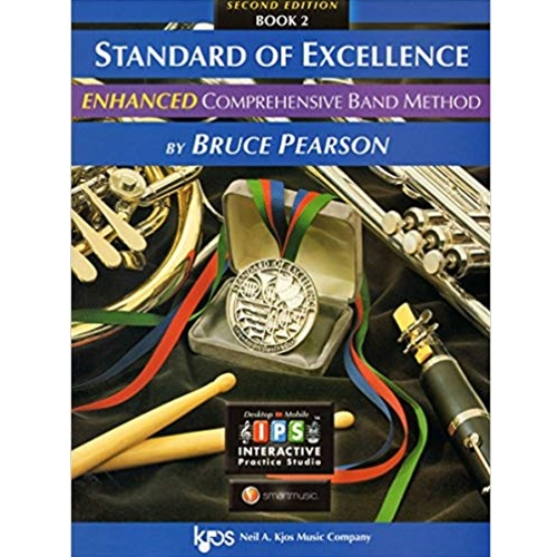 Standard of Excellence Enhanced - Percussion Book 2