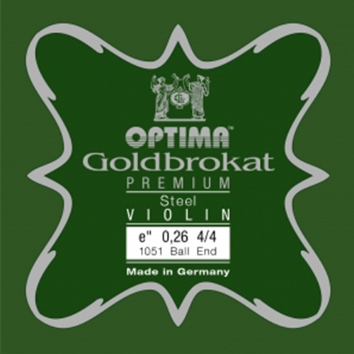 Optima Goldbrokat 4/4 Violin E String Steel