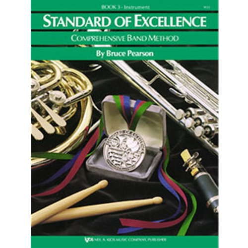 Standard of Excellence - Timpani Book 3