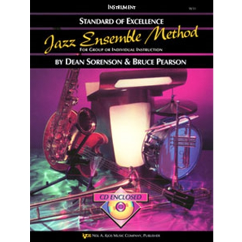Standard of Excellence Jazz Method Book 1 - Drums