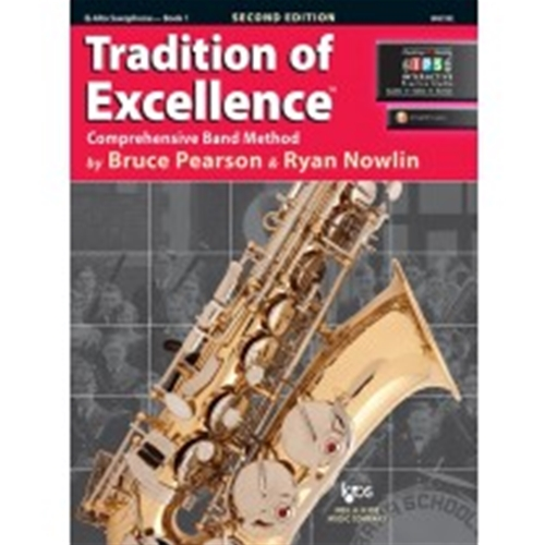 Tradition of Excellence Book 1 Alto Sax