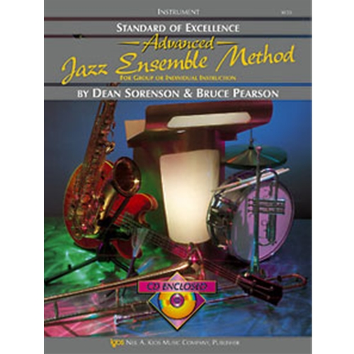 Standard of Excellence Jazz Method Book 2- Auxillary Percussion