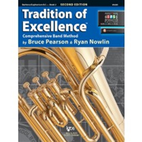 Tradition of Excellence Book 2 Baritone BC