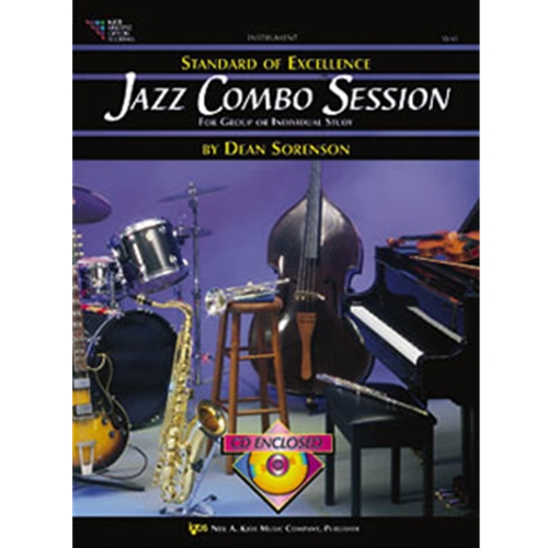 Standard of Excellence Jazz Combo - Drums