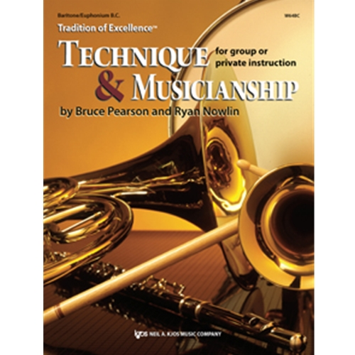 Tradition of Excellence: Technique & Musicianship - Bass Clarinet