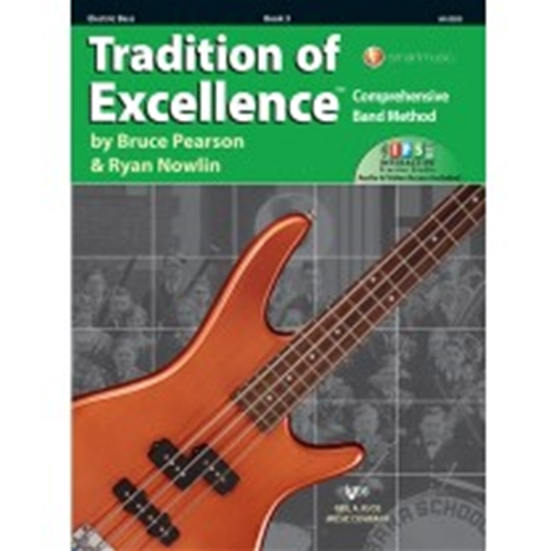 Tradition of Excellence Book 3 Electric Bass