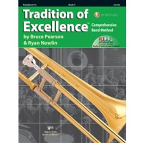 Tradition of Excellence Book 3 Trombone Treble Clef