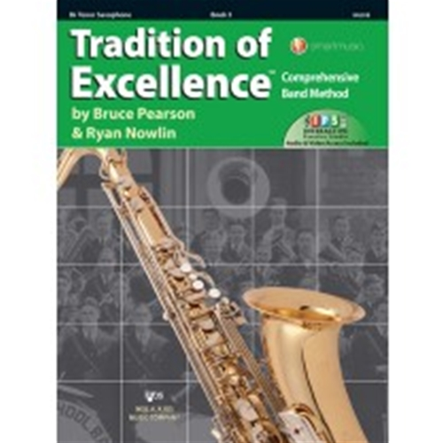 Tradition of Excellence Book 3 - Bb Tenor Saxophone