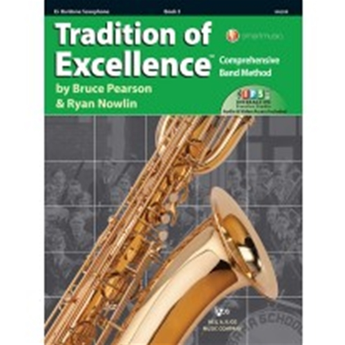 Tradition of Excellence Book 3 Baritone Saxophone