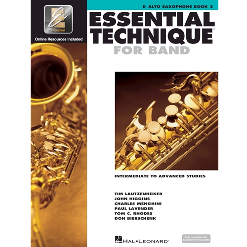 Essential Technique 2000 Alto Sax