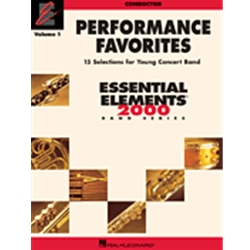 Essential Elements Performance Favorites Vol.1 - Conductor