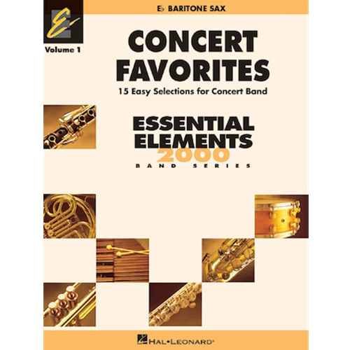 Concert Favorites Vol.1 Bari Sax