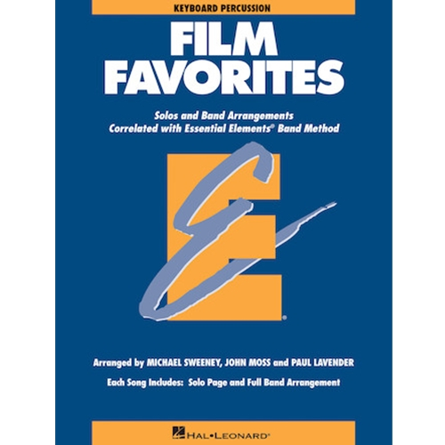 Film Favorites Keyboard Percussion