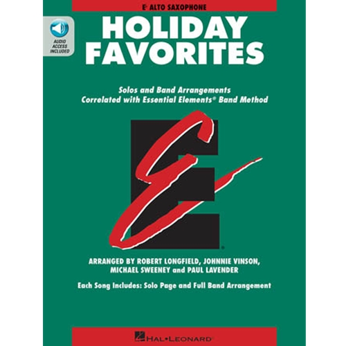 Essential Elements Holiday Favorites - Alto Sax