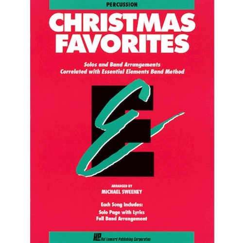 Essential Elements Christmas Favorites - Percussion
