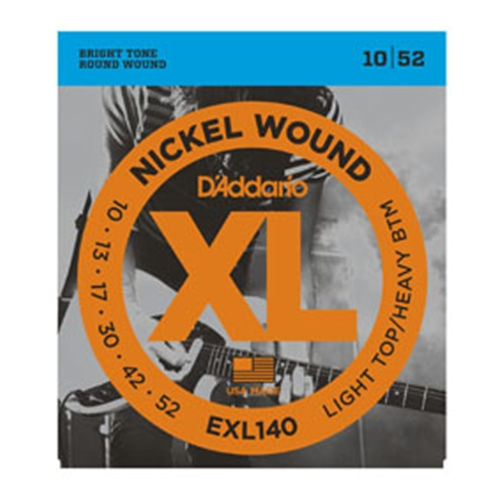 Daddario EXL140 Electric Guitar Strings 10-52