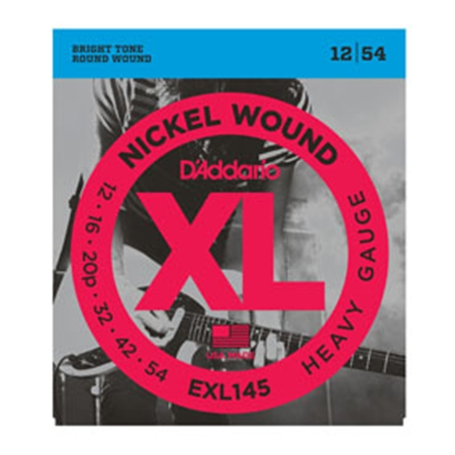 Daddario EXL145 Electric Guitar Strings 12-54