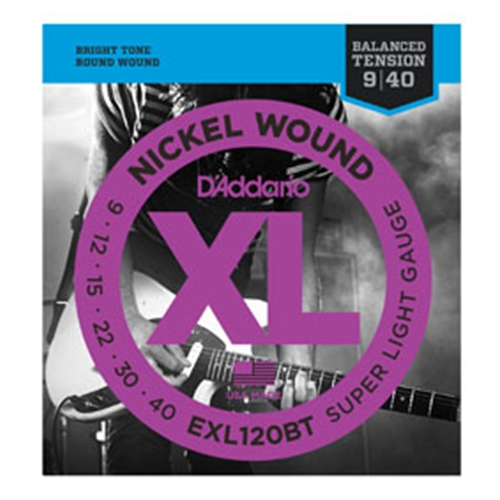 Daddario EXL120BT Electric Guitar Strings 9-40