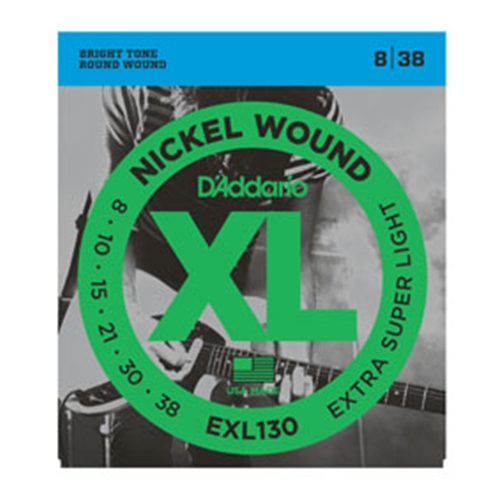 Daddario EXL130 Electric Guitar Strings 8-38