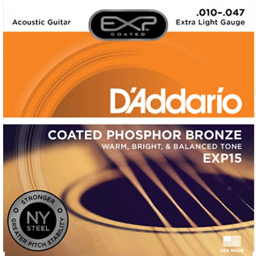 Daddario EXP15 Guitar Strings 10-47