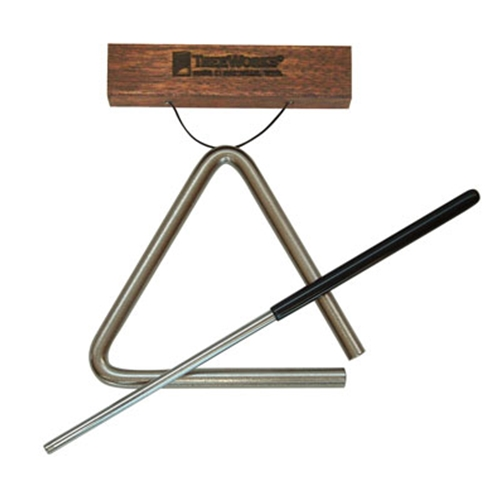 TreeWorks TREHS04 New Studio-Grade 4-inch Triangle